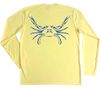 Blue Crab Performance Build-A-Shirt (Back / PY)