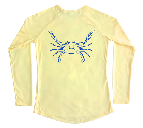 Blue Crab Performance Build-A-Shirt (Women - Back / PY)