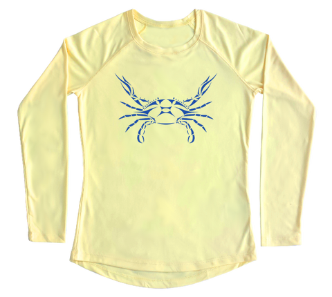 Blue Crab Performance Build-A-Shirt (Women - Front / PY)