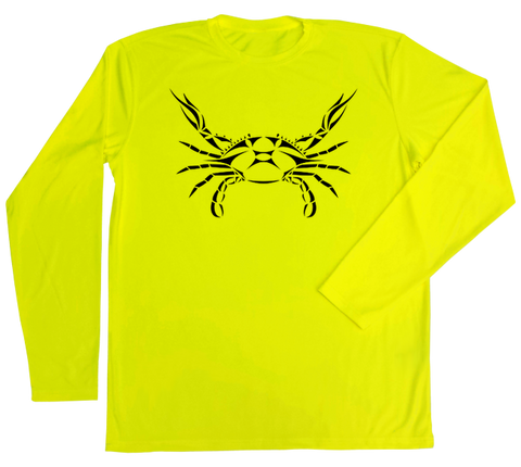 Blue Crab Performance Build-A-Shirt (Front / SY)