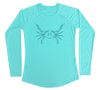 Blue Crab Performance Build-A-Shirt (Women - Front / WB)