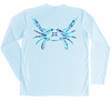 Blue Crab Performance Shirt (Water Camo)