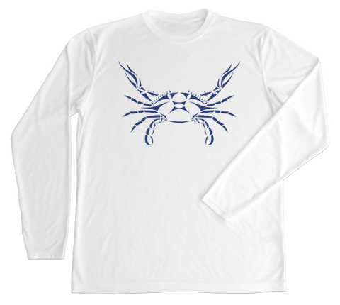 Blue Crab Performance Build-A-Shirt (Front / WH)