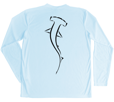 Hammerhead Shark Performance Build-A-Shirt (Back / AB)