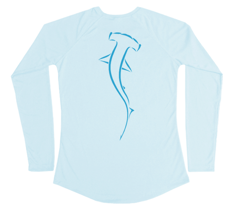 Hammerhead Shark Performance Build-A-Shirt (Women - Back / AB)