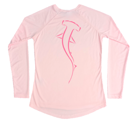 Hammerhead Shark Performance Build-A-Shirt (Women - Back / PB)