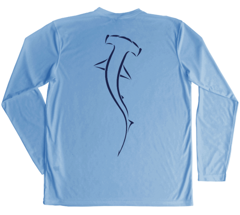Hammerhead Shark Performance Build-A-Shirt (Back / CB)