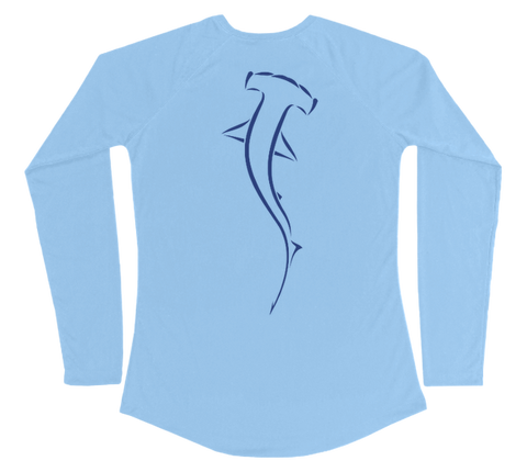 Hammerhead Shark Performance Build-A-Shirt (Women - Back / CB)