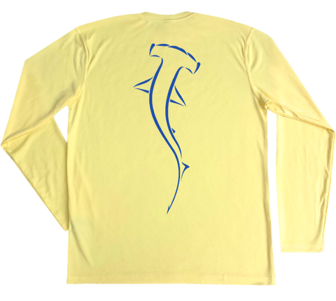 Hammerhead Shark Performance Build-A-Shirt (Back / PY)