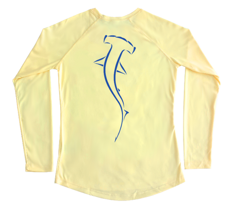 Hammerhead Shark Performance Build-A-Shirt (Women - Back / PY)