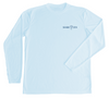 hammerhead shark long sleeve performance shirt - front