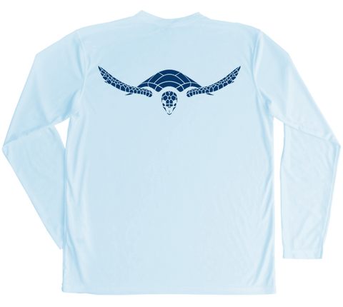 Hawksbill Sea Turtle Performance Build-A-Shirt (Back / AB)