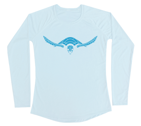 Hawksbill Sea Turtle Performance Build-A-Shirt (Women - Front / AB)