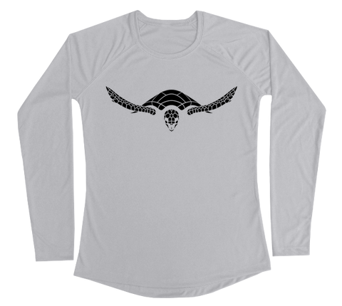 Hawksbill Sea Turtle Performance Build-A-Shirt (Women - Front / PG)