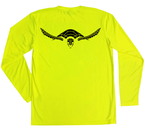 Hawksbill Sea Turtle Performance Build-A-Shirt (Back / SY)