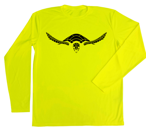 Hawksbill Sea Turtle Performance Build-A-Shirt (Front / SY)