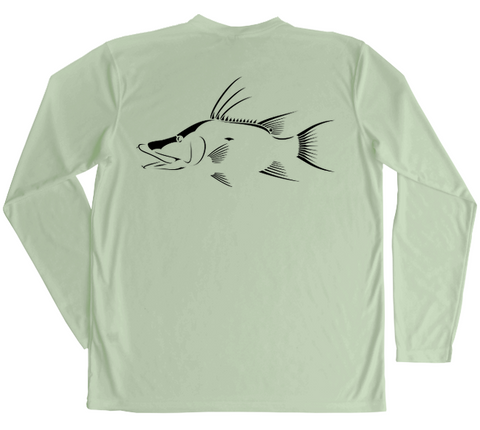Long Sleeve Fishing & Diving PFG Shirt | Hogfish Swim Shirt