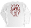 Performance Fishing Gear Shirt - Sun Protection Shirt - Spiny Lobster