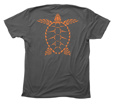 Sea Turtle T-Shirt - Tribal Loggerhead Turtle Shirt