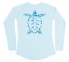 Sea Turtle Performance Shirt (Women - Water Camo)