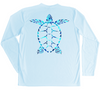 Loggerhead Sea Turtle Performance Shirt (Water Camo)