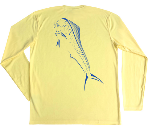 Performance Fishing Shirt | Mahi-Mahi Long Sleeve