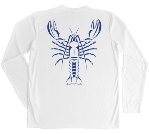 Maine Lobster Performance Build-A-Shirt (Back / WH)