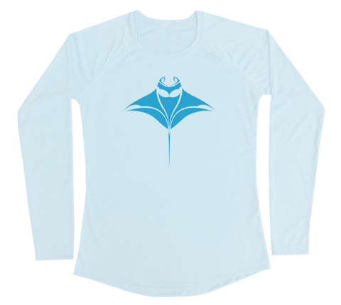 Manta Ray Performance Build-A-Shirt (Women - Front / AB)