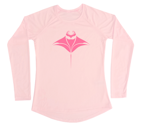 Manta Ray Performance Build-A-Shirt (Women - Front / PB)