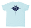 Manta Ray Kids T-Shirt | Scuba Manta Ray Short Sleeve Children's Shirt