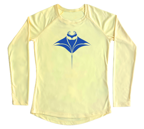 Manta Ray Performance Build-A-Shirt (Women - Front / PY)
