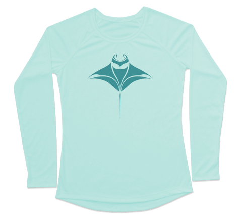 Manta Ray Performance Build-A-Shirt (Women - Front / SG)