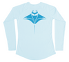 Manta Ray Swim Shirt - UV Protective Ladies Manta Ray Shirt - Back