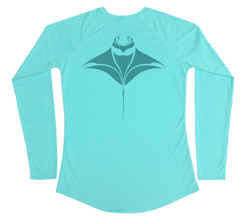 Manta Ray Performance Build-A-Shirt (Women - Back / WB)