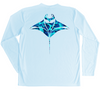 Manta Ray Performance Shirt (Water Camo)