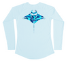 Manta Ray Performance Shirt (Women - Water Camo)