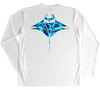 Men's Long Sleeve UV Water Camouflage Hammerhead Swim Shirt