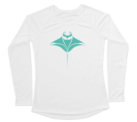 Manta Ray Performance Build-A-Shirt (Women - Front / WH)
