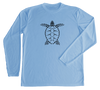 Loggerhead Sea Turtle Performance Build-A-Shirt (Front / CB)
