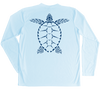 Loggerhead Sea Turtle Performance Build-A-Shirt (Back / AB)
