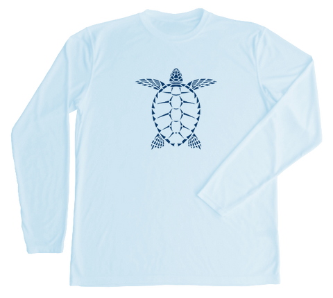 Loggerhead Sea Turtle Performance Build-A-Shirt (Front / AB)