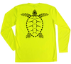 Loggerhead Sea Turtle Performance Build-A-Shirt (Back / SY)