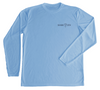 Spiny Lobster Columbia Blue UV Shirt - Front
