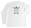 Loggerhead Sea Turtle Performance Build-A-Shirt (Front / WH)