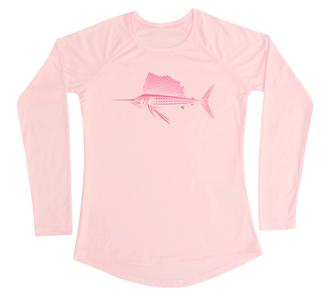 Women's Sailfish UV Shirt - Fishing Performance Shirt