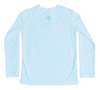 Toddler Sea Turtle Long Sleeve UPF Sun Shirt - Back
