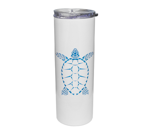 Sea Turtle Travel Tumbler | Scuba Diving Stainless Steel 20oz Mug