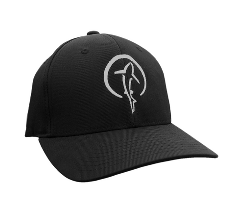 Shark Hat - Cool Black Shark Zen Flexfit Cap