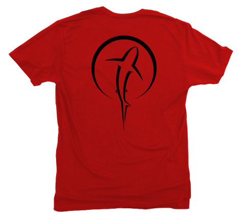 Shark Zen Red T-Shirt