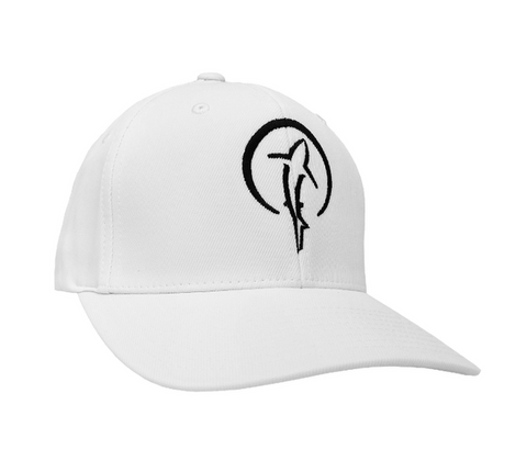 Shark Hat | White Shark Zen Flexfit Closed Cap